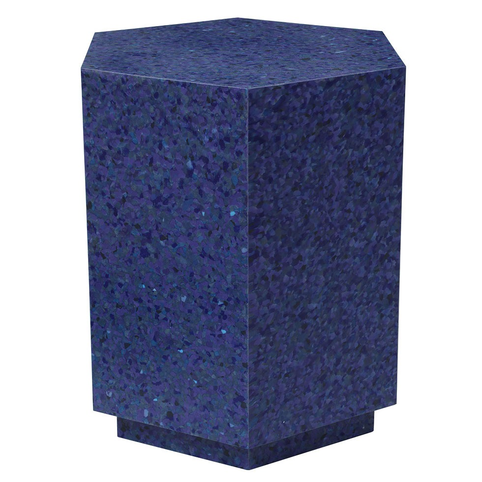 Mesa auxiliar hexagonal